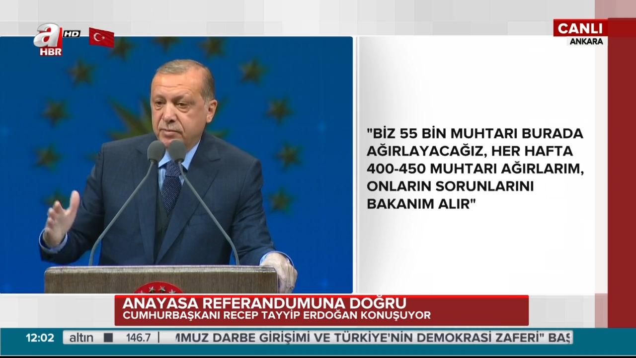 """Cumhurbaşkanı Erdoğan """"Güzel Bir Türkiye İçin Tabii ki Evet"""" programında güzellik uzmanlarına hitap etti"""