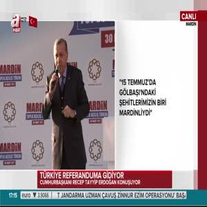 Cumhurbaşkanı Erdoğan'dan Mardin'e 514 trilyonluk dev yatırım müjdesi