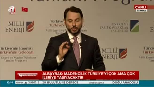 """""""Türkiye'nin taşı toprağı altın"""""""