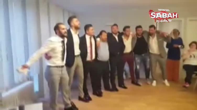 Hakan Çalhanoğlu sahnede hünerlerini sergiledi