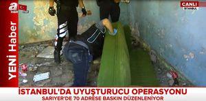 Son Dakika Haberi: İstanbul'da uyuşturucu operasyonu!