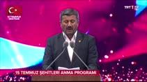 Cumhurbaşkanı Erdoğan, törende gözyaşlarına boğuldu