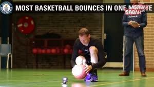 Dünyanın en hızlı basket topu sektiren adamı