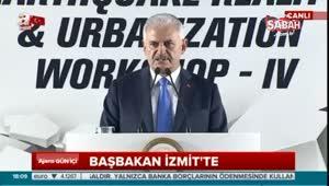 Başbakan Yıldırım'dan depremle ilgili önemli açıklamalar